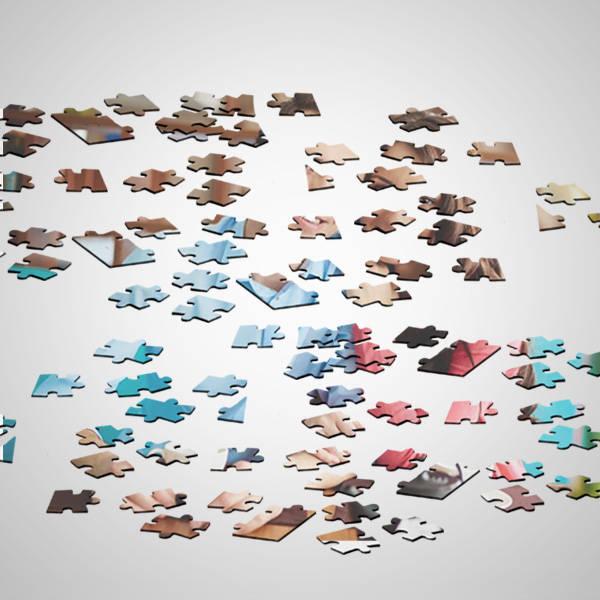 Kişiye Özel 240 Parça Puzzle Konservesi