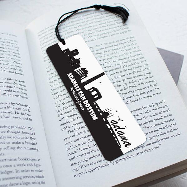 Kişiye Özel Adana Temalı Kitap Ayracı
