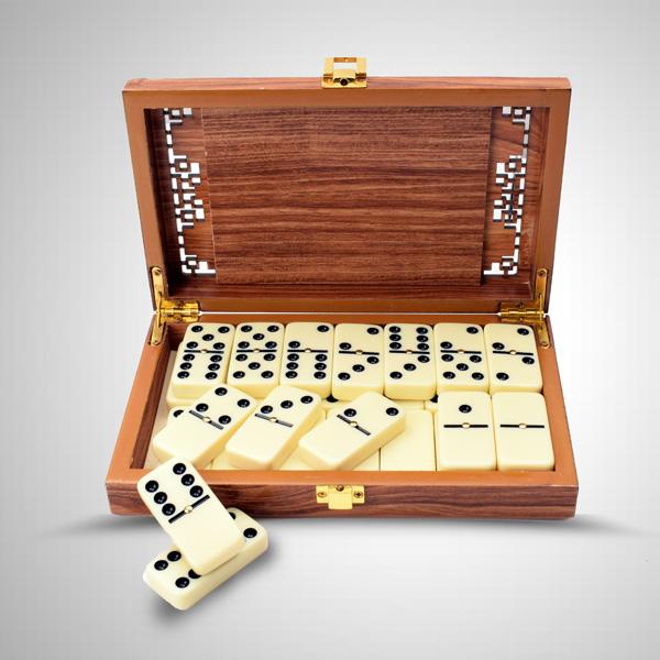 Kişiye Özel Ahşap Domino Seti