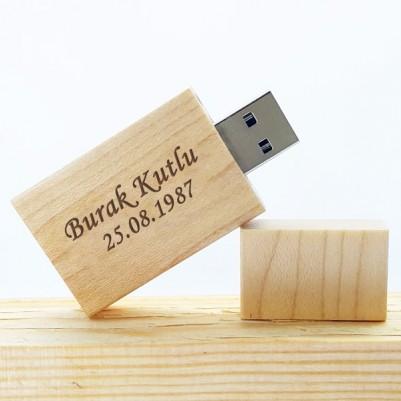 - Kişiye Özel Ahşap USB Bellek