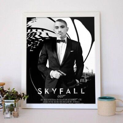 Kişiye Özel Ajan Temalı Film Posteri - Thumbnail