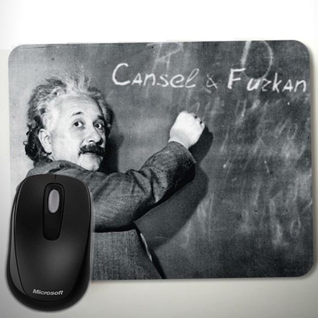 Kişiye Özel Albert Einstein Mousepad