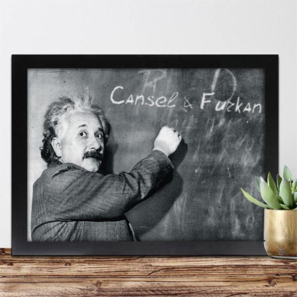 Kişiye Özel Albert Einstein Sertifika
