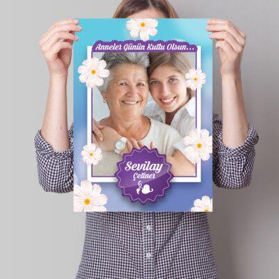 - Kişiye Özel Anneler Günü Temalı Poster