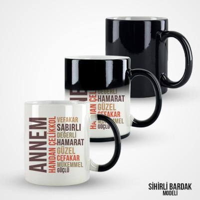 Kişiye Özel Annem Kahve Kupası - Thumbnail