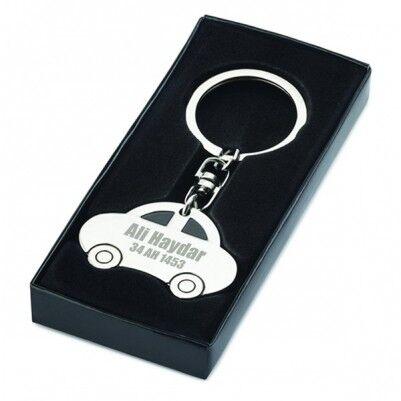 Kişiye Özel Araba Hediyesi Anahtarlık - Thumbnail