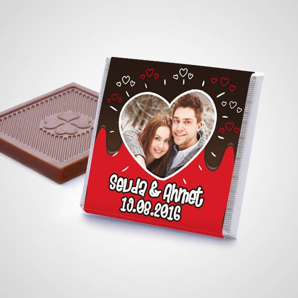 Kişiye Özel Aşk Çikolata Konservesi