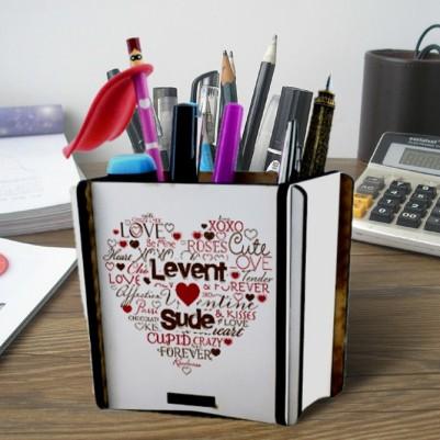 - Kişiye Özel Aşk Dolu Kalemlik