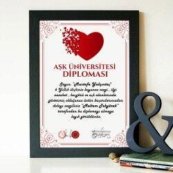 - Kişiye Özel AŞK Üniversitesi Diploması