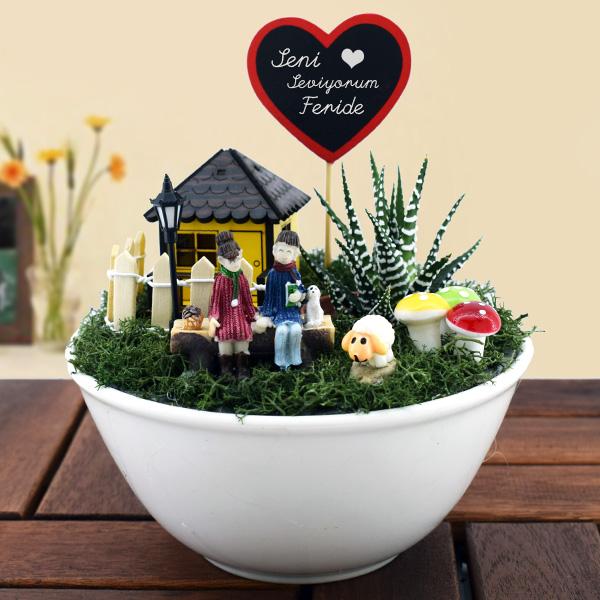 Kişiye Özel Aşkımızın Mini Bahçesi