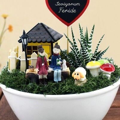 Kişiye Özel Aşkımızın Mini Bahçesi - Thumbnail