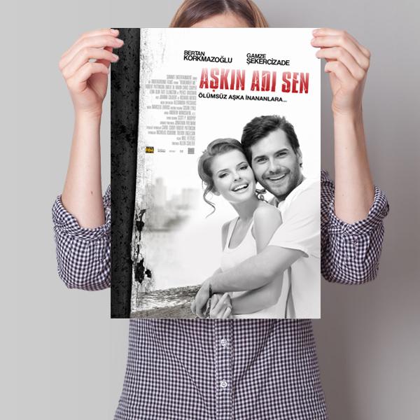 Kişiye Özel Aşkın Adı Sen Film Posteri