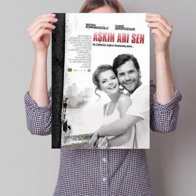 - Kişiye Özel Aşkın Adı Sen Film Posteri