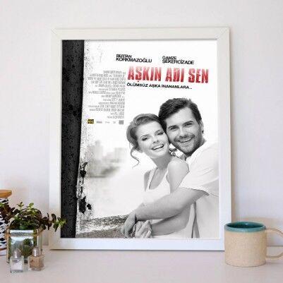 Kişiye Özel Aşkın Adı Sen Film Posteri - Thumbnail