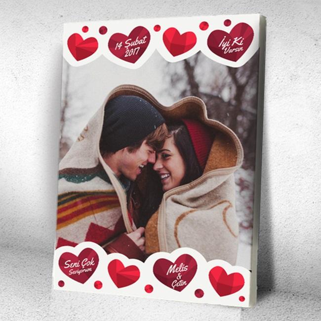 Kişiye Özel Aşkın Tablosu Kanvas