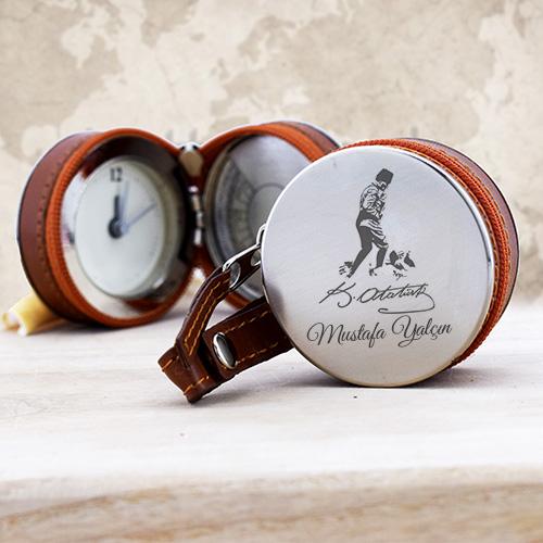 Kişiye Özel Atatürk İmzalı Cep Saati