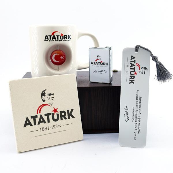 Kişiye Özel Atatürk Temalı Hediye Seti