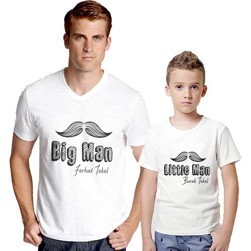 Kişiye özel Babası ve Oğlu Tişörtü