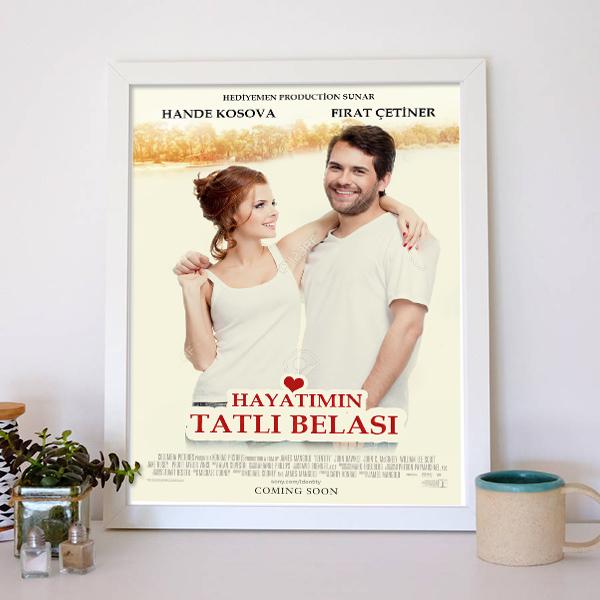 Kişiye Özel Başımın Tatlı Belası Film Afişi