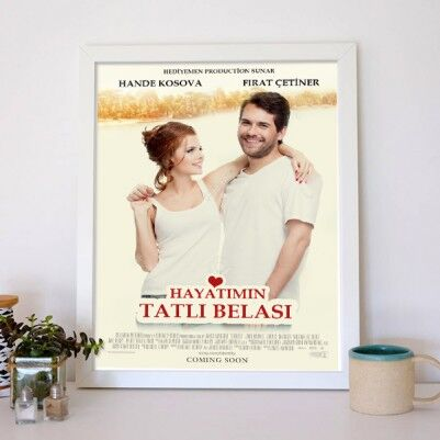 Kişiye Özel Başımın Tatlı Belası Film Afişi - Thumbnail