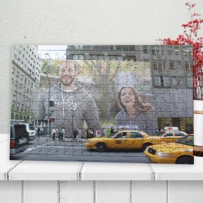 - Kişiye Özel Billboard Reklamı 240 Parça Puzzle