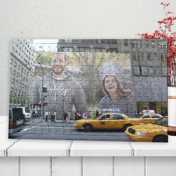 Kişiye Özel Billboard Reklamı 240 Parça Puzzle