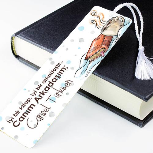 Kişiye Özel Canım Arkadaşım Kitap Ayracı
