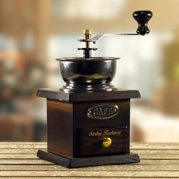 Kişiye Özel Dekoratif Kahve Değirmeni