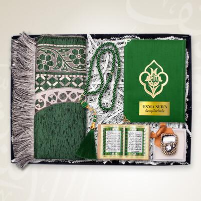 - Kişiye Özel Dini Konsept Hediye Kutusu Yeşil