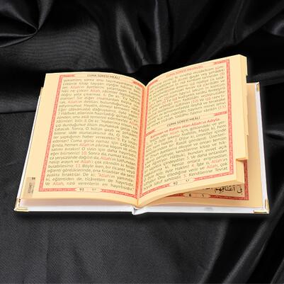Kişiye Özel Dualar Kitabı Hediye Seti - BEYAZ - Thumbnail