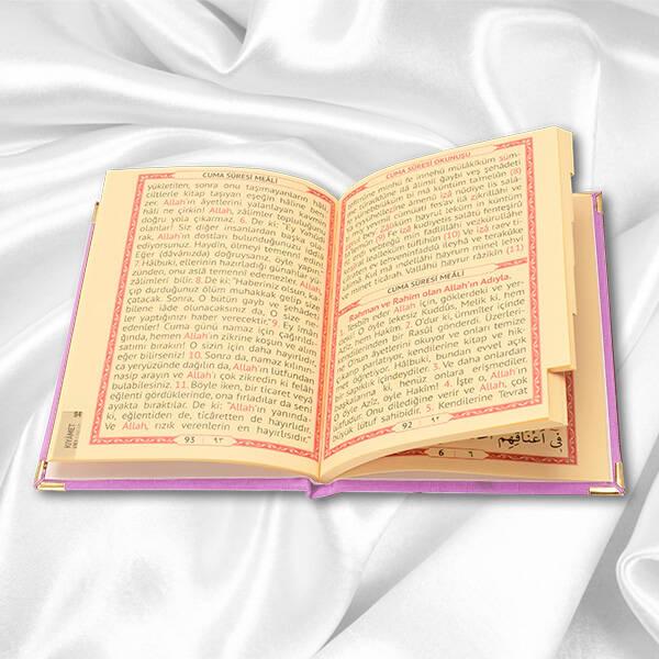 Kişiye Özel Dualar Kitabı Hediye Seti - PEMBE