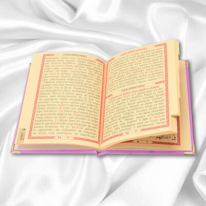 Kişiye Özel Dualar Kitabı Hediye Seti - PEMBE - Thumbnail