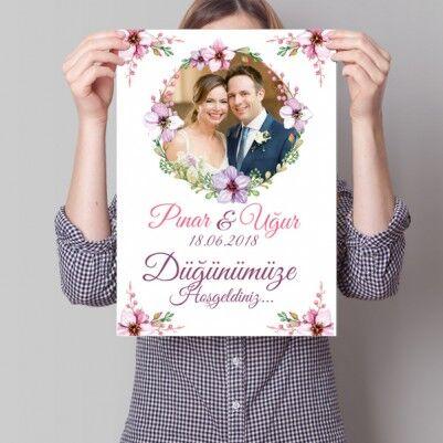 - Kişiye Özel Düğün Davetiyesi Posteri