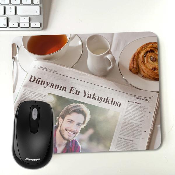 Kişiye Özel Dünyanın En Yakışıklısı Mousepad