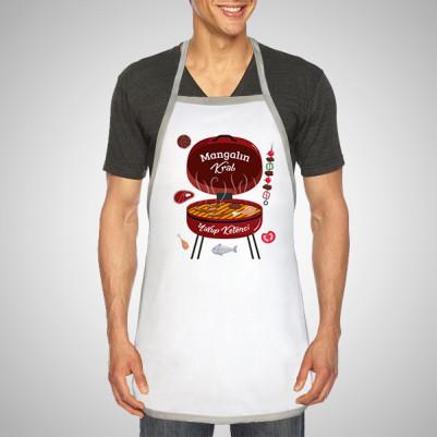 - Kişiye Özel En İyi Mangalcı Mutfak Önlüğü