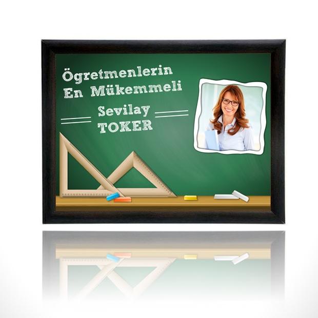 Kişiye Özel En İyi Öğretmen Sertifikası