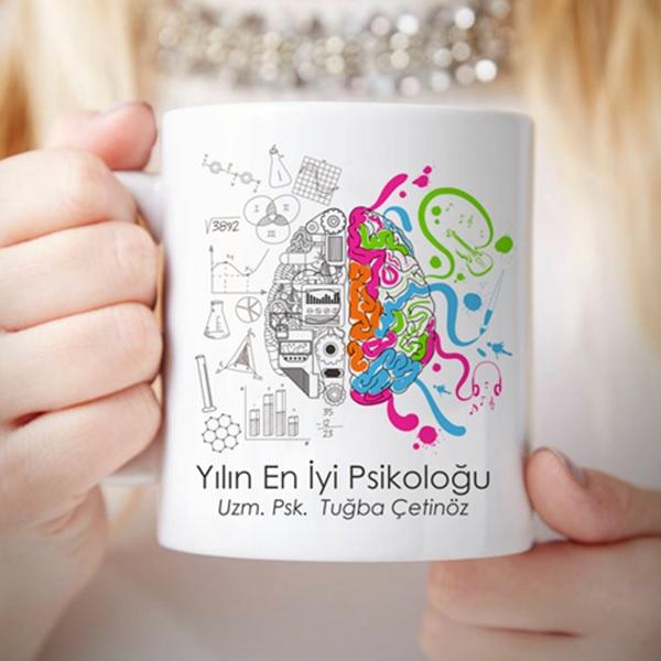 Kişiye Özel En iyi Psikolog Kupa Bardak