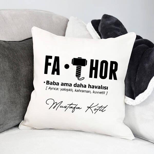 Kişiye Özel FA-THOR Yastık