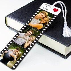 Kişiye Özel Film Şeridi Kitap Ayracı - Thumbnail