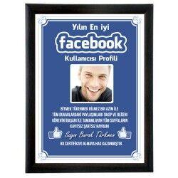 - Kişiye Özel Fotoğraflı Facebook Sertifikası