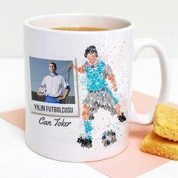 - Kişiye Özel Fotoğraflı Futbolcu Kupa Bardak