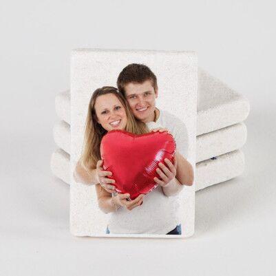 - Kişiye Özel Fotoğraflı Taş Buzdolabı Magneti