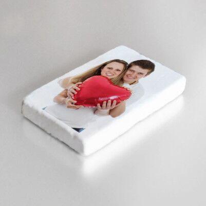 Kişiye Özel Fotoğraflı Taş Buzdolabı Magneti - Thumbnail