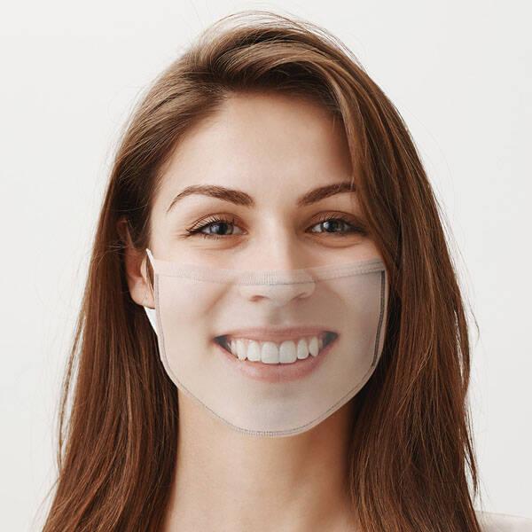 Kişiye Özel Fotoğraflı Yıkanabilir Maske