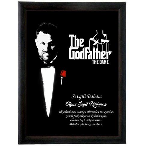 Kişiye Özel Godfather Baba Sertifikası