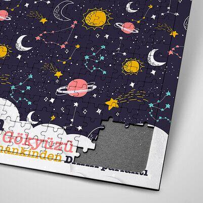 Kişiye Özel Gökyüzü Temalı Puzzle - Thumbnail