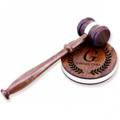 Kişiye Özel Hakim Tokmağı - Thumbnail