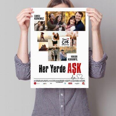 - Kişiye Özel Her Yerde Aşk Film Posteri