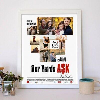 Kişiye Özel Her Yerde Aşk Film Posteri - Thumbnail