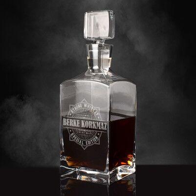 - Kişiye Özel İsimli Exclusive Viski Şişesi